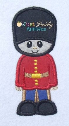 London Guard Applique Design