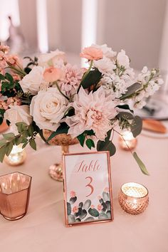 Lynn + Lou :: Table Numbers