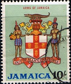 Jamaica 1964 Coat of Arms Fine Used       SG Scott 231 Other West Indies and British Commonwealth Stamps HERE!