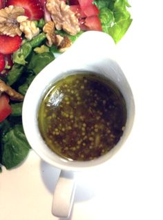 Clean honey mustard salad dressing