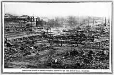 44 Blocks of Negro Prosperity Destroyed by White Mob in Tulsa, Oklahoma - June, 1921