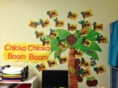 Chicka Chicka Boom Boom Picture Frames