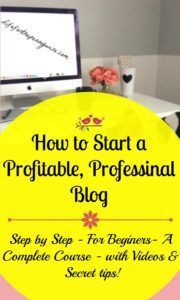 How to start a blog, (Even if you are not techie- just like me!)  That you can make money off of!!!!- Life for the Penny Wise
