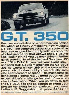 Shelby GT350 Ads