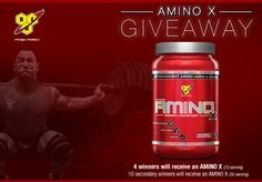 Check this out!!! BSN is running an AMINO X Giveaway