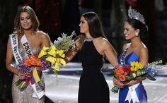 Un tremendo error del presentador Steve Harvey dio por ganadora inicialmente a la Miss Colombia, Ariadna Gutiérrez. - RDjobero 100% Gasparense!!