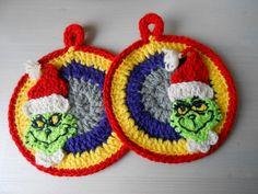"""Presine """"Grinch"""" - crochet - wool - 2013"""