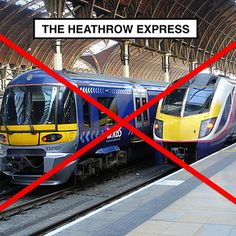 8 Tube Hacks Every Londoner Needs To Know.The Heathrow Express is £34 a return (£39 if you don't buy your fare online beforehand). Taking the tube? A fiver each way! FIVE POUNDS. It also takes 50 minutes direct on the Piccadilly Line from Holborn station, instead of having to get yourself to Paddington on the Bakerloo, District or Circle for the Express, which can be an arse at the best of times. AND you get to see the Piccadilly Line above ground, which is literally literally quite…