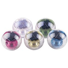 Danner Floating Solar Powered Pond Lights | Wayfair