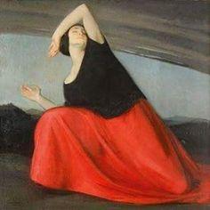 Amedeo Bocchi (1883 – 1976) - Il presagio #DonneInArte