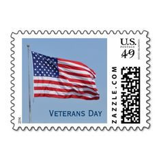 Veterans Day United States Postage Stamp