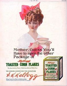 Kellogg's Corn Flakes were invented to quell people's sexual urges. | 21 Truly Insane Stories Behind Your Favorite Foods