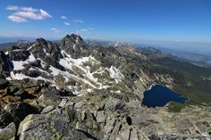 View from the most dangerous public path of the High Tatras, the Orla Perć High Tatras, Tatra Mountains, My Eyes, Paths, Mount Everest, Trail, Public, Hiking, Nature