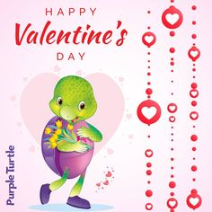 Heart is the only thing that works day and night without resting. Keep it happy always whether its yours or someone else's.  #TagYourLoveOnce #Valentine #PurpleTurtle #HappyValentine