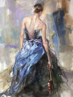 Painting by Anna Rasumovskaya