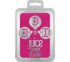JUICE Power Station Portable USB Power Pack - Pink