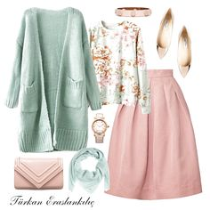 Türkan Eraslankılıç: make special combinations for yourself Muslim Fashion, Modest Fashion, Skirt Fashion, Hijab Fashion, Fashion Outfits, Womens Fashion, Modest Outfits, Skirt Outfits, Cute Outfits