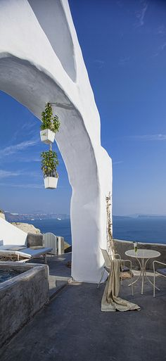 Andronis Boutique Hotel Private Terrace,View of Beach, Santorini, Greece