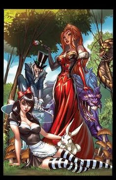 Calvin's Canadian Cave of Coolness: Disney Girls By J. Scott Campbell