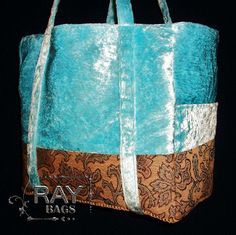Handmade, one of a kind, fashionable Tote by Ray Bags.  www.FaceBook.com/RayDesigns
