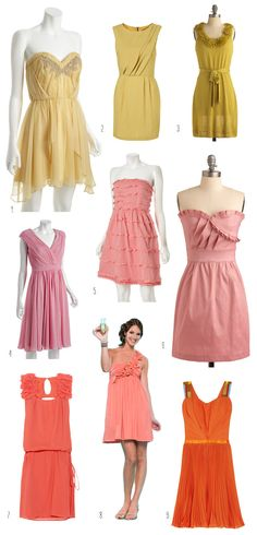 Spring bridesmaid dresses round up!