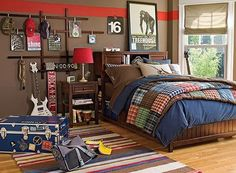 15 Amazing TweenTeen Boy Bedrooms Teen boys Teen and Bedrooms
