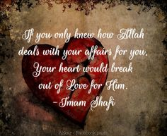 Allah's love for you! ❤