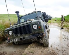 Land Rover Defender XD 'Wolf' Waterproofed Specification Bowman Equipped.