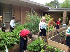 The Garden as Food Classroom