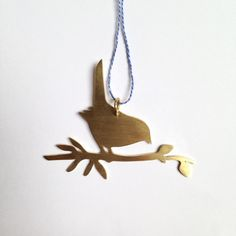 Blackbird - Ornament via BeritMarie. Click on the image to see more!