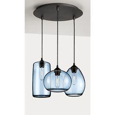 Sky Modern Glass Pendants, Group of Three or Five - Modern Pendants - Modern Lighting - Room & Board
