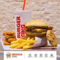Herkesin bir parça şımartılmaya ihtiyacı vardır. Bugün kendinizi Burger King menüsüyle şımartın. :) #AntalyaMigrosAVM