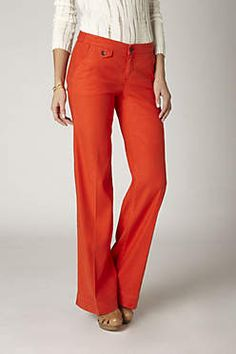 anthropologie...want.  These pants are sold everywhere!!  Love this color!
