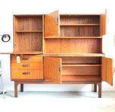 1960s Teak Afrimosia G Plan Room Divider Mid Century Modern