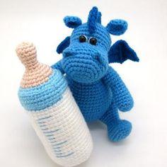 Grow, Baby dragon amigurumi pattern by Masha Pogorielova (mashutkalu)