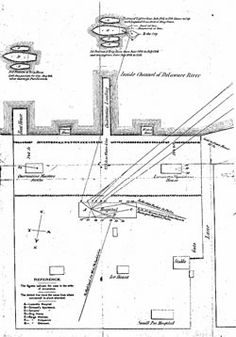 Planned layout of the Philadelphia Lazaretto