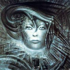 The Most Unforgettable Creations of H. R. Giger Hr Giger Art, Xenomorph, Illusion Kunst, Giger Alien, Psy Art, Alien Art, Art Graphique, Land Art, Sci Fi Art
