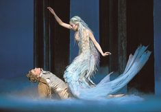 """A new ballet """"The Little Mermaid"""", composed by Tuomas Kantelinen. Premiere on October at the Finnish National Ballet with choreography by Kenneth Greve and costumes by Erika Turunen. Ballet Costumes, Dance Costumes, Mermaid Costumes, Woman Costumes, Couple Costumes, Group Costumes, Adult Costumes, Fantasy Creatures, Sea Creatures"""