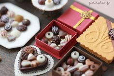 Chocolate and Pralines by PetitPlat - Stephanie Kilgast, via Flickr