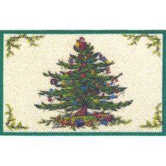 Miniature Christmas Tree Mat