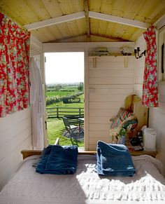 A sleeping hut for the garden.