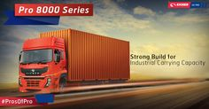 Keeping industrial standards in mind, Pro 8000 Series comes with wide frames for shipping industry. #EicherProSeries #AutoExpoPune #AutoExpo #AETMS2016