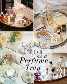 perfume_tray_mirror_DIY by makeupsavvycouk, via Flickr