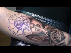 Silence times - Tattoo (time lapse and real time) - YouTube