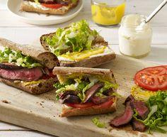 Grilled Steak Sandwiches ‹ Hello Healthy