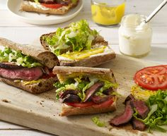 Grilled Steak Sandwi