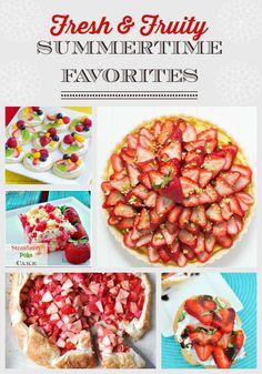 fresh & fruity summertime favorites