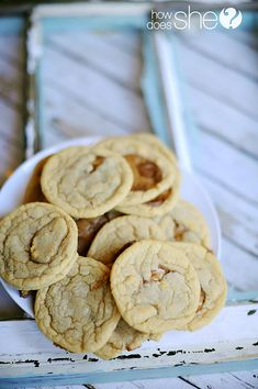 rolo cookies.  This is now our favorite cookie recipe.  Use this dough for choco chip cookies too.