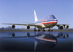 American Airlines 747 SP
