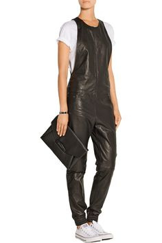 Shop on-sale R13 Leather jumpsuit. Browse other discount designer Jumpsuits & more on The Most Fashionable Fashion Outlet, THE OUTNET.COM